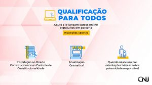 Cursos online gratuitos do STF